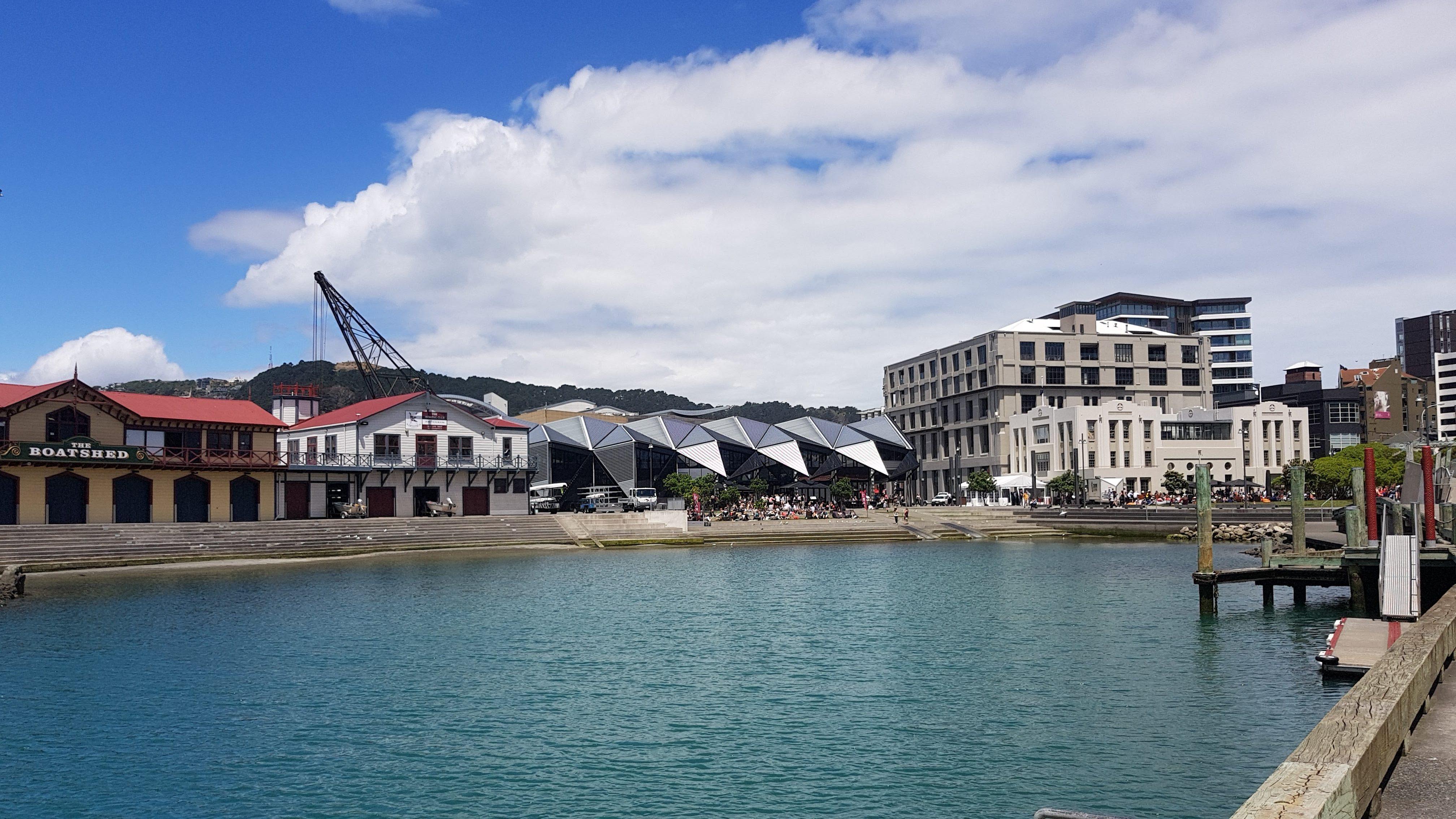 Te Araroa Trail Wellington Waterfront