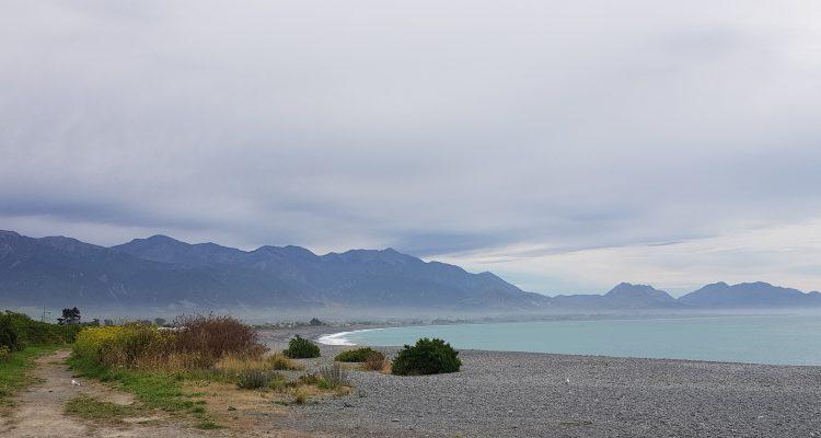 The Kaikoura Coastline