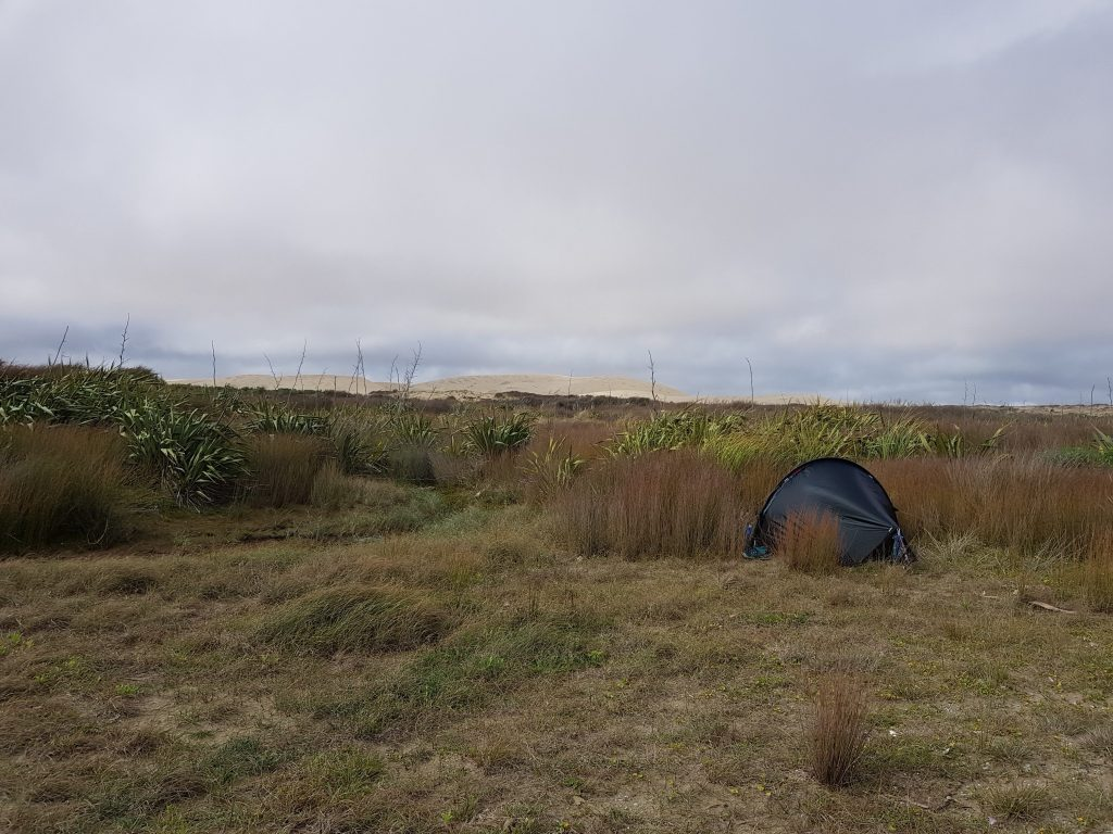 Te Araroa Day 1 - Wild camp 90 mile beach