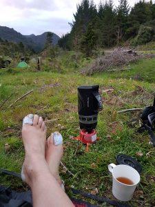 Te Araroa Trail Day 7 - Glad to reach camp!Te Araroa Trail Day 7 - Glad to reach camp!