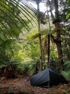 Te Araroa Trail Day 8 - Wild camping at Waipapa river junction