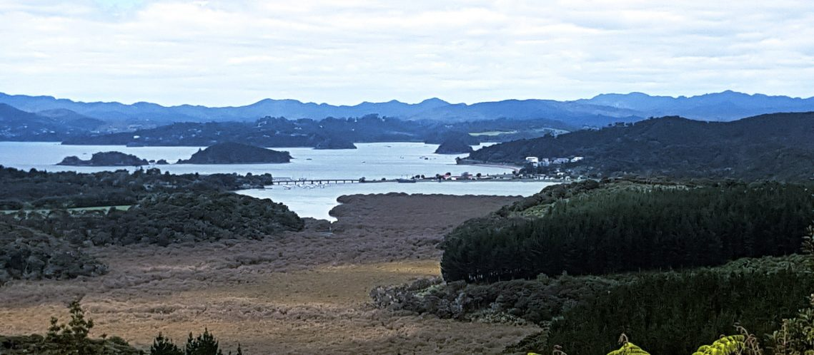 Te Araroa Trail Day 12 - Overlooking the Bay of Islands