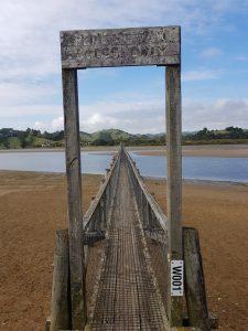 Te Araroa Trail Whananaki footbridge