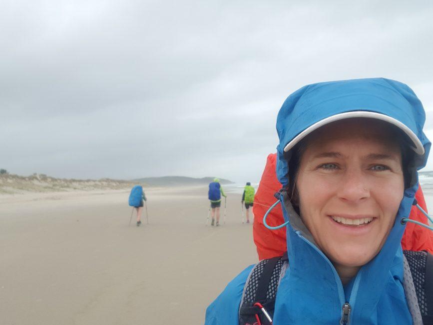 Te Araroa Day 21 - Rainy beach day