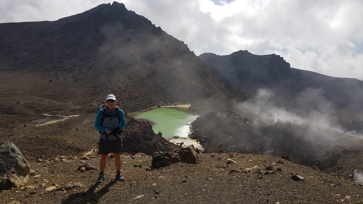 Te Araroa Trail Emerald Lakes Tongariro Crossing
