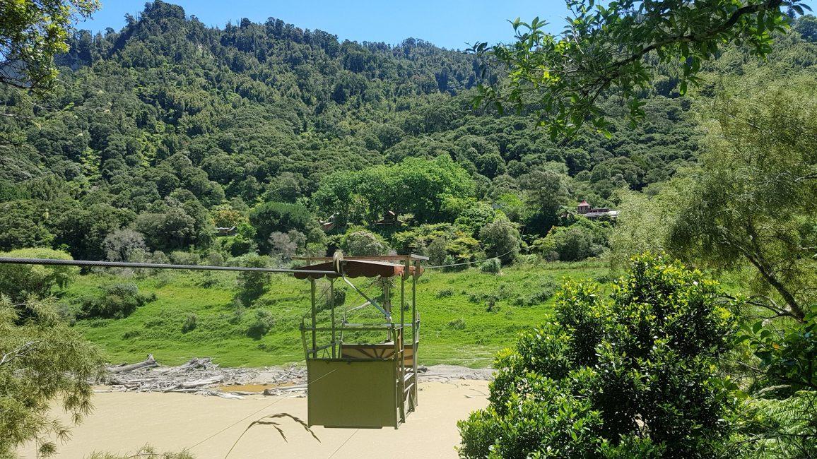 Te Araroa Trail Flying Fox accommodation