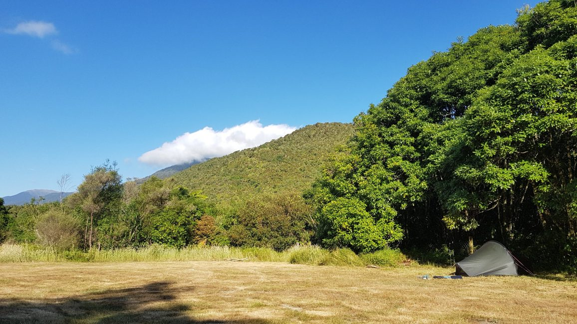 Te Araroa Trail Day 65 - DOC campsite at Otaki Forks