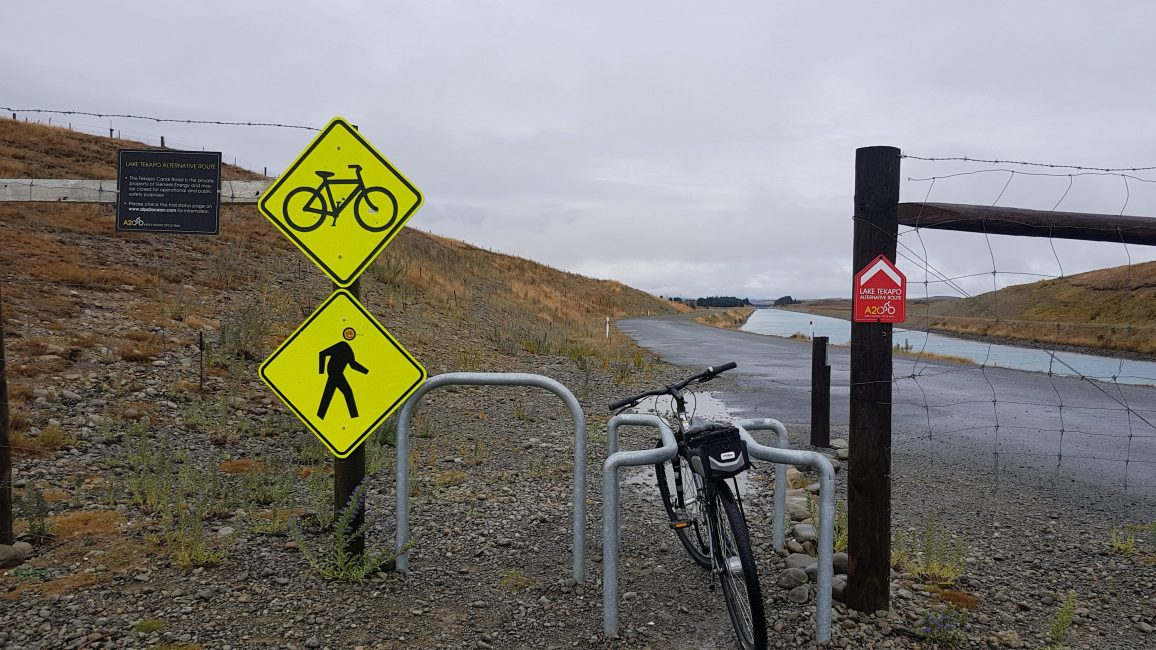 Te Araroa Trail Day 91 - Cycling Tekapo to Lake Ohau