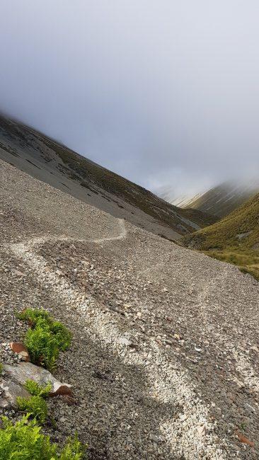 Te Araroa Trail Day 92 - Descending into the East Ahuriri river valley