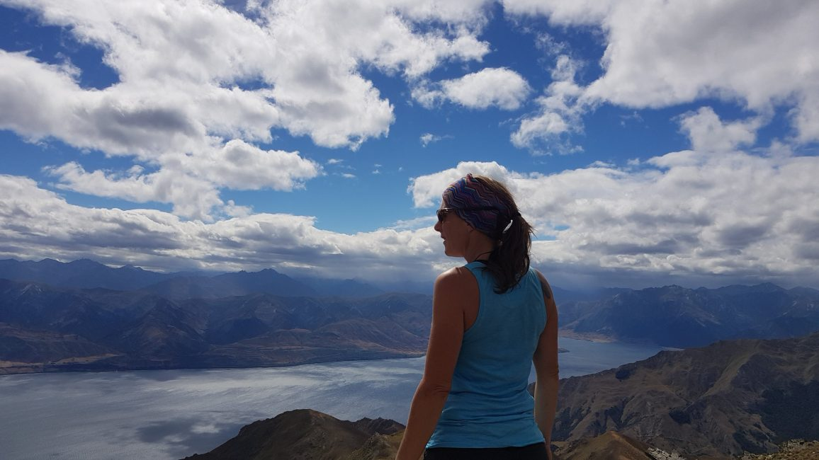 Te Araroa Trail Day 94 - View from Breast Hill across Lake Hawea to the North