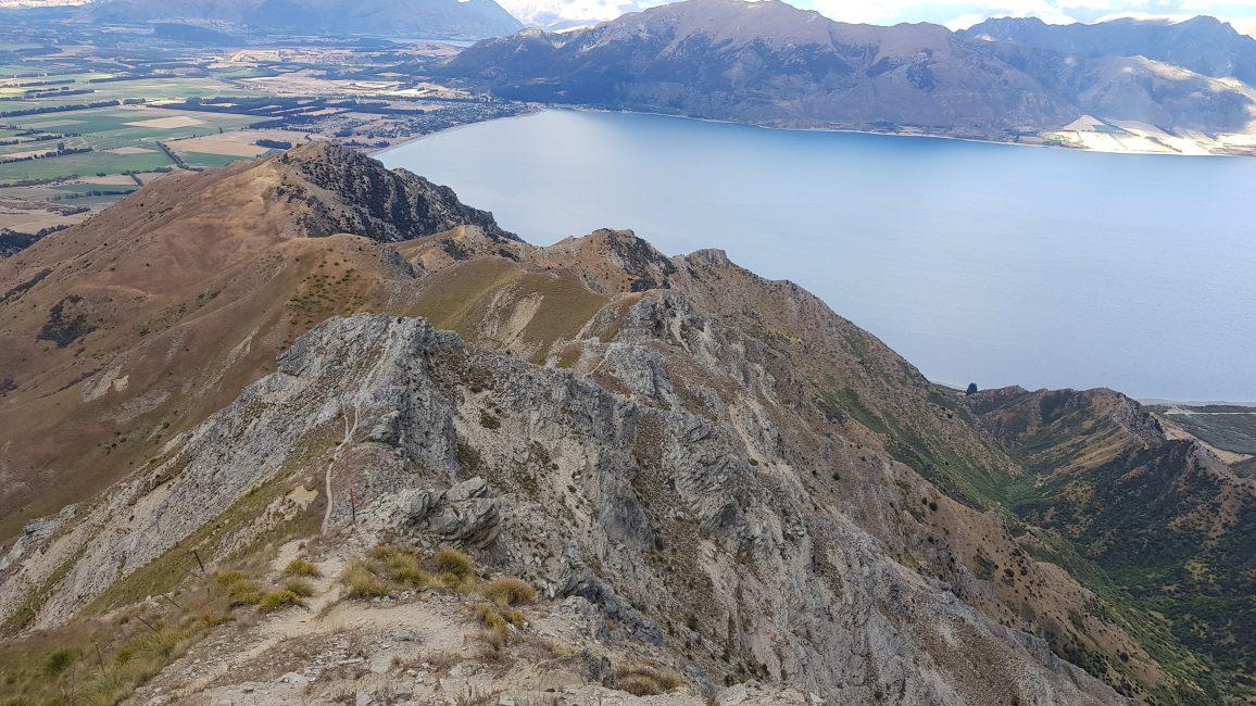 Te Araroa Trail Day 95 - Descending Breast Hill to Gladstone Road