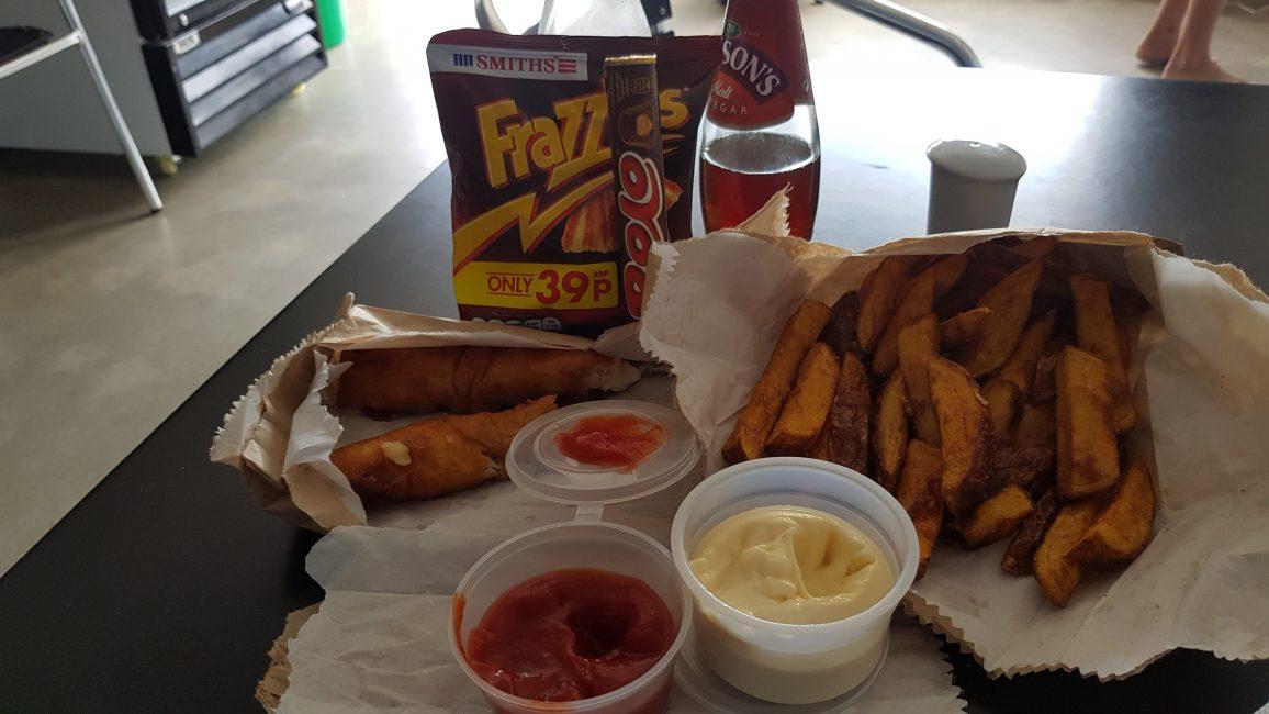 Te Araroa Trail Day 95 - Fish n Chips at Albert Town