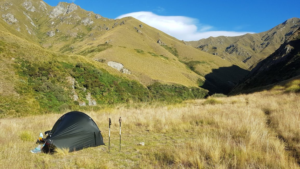 Te Araroa Trail Day 98 - Camping at Fern Burn hut