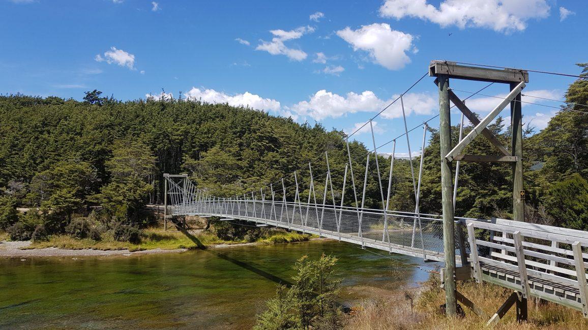 Te Araroa Trail Day 106 - Swingbridge after Mavora Lakes
