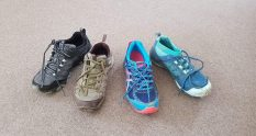 Which trainers for Te Aarroa Trail
