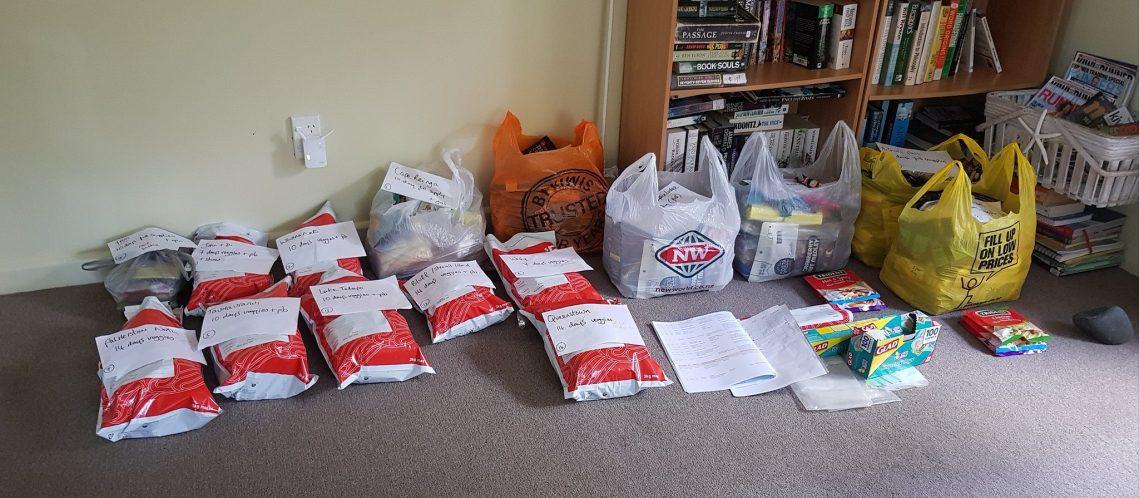 Te Araroa trail resupply packages