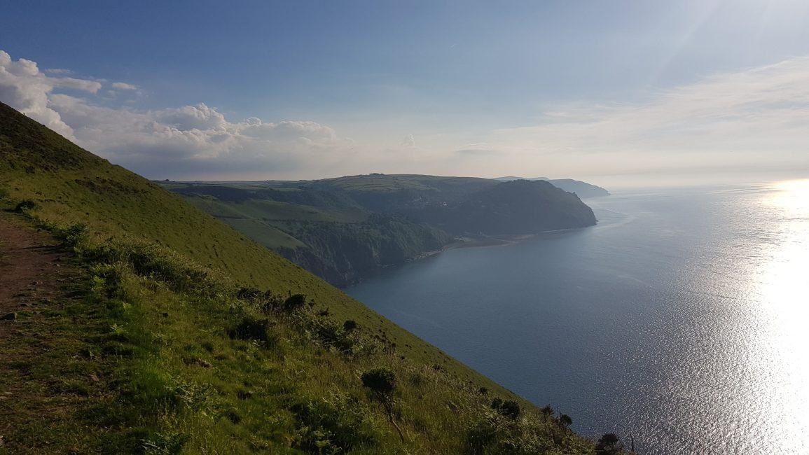 Sea cliffs near Countisbury