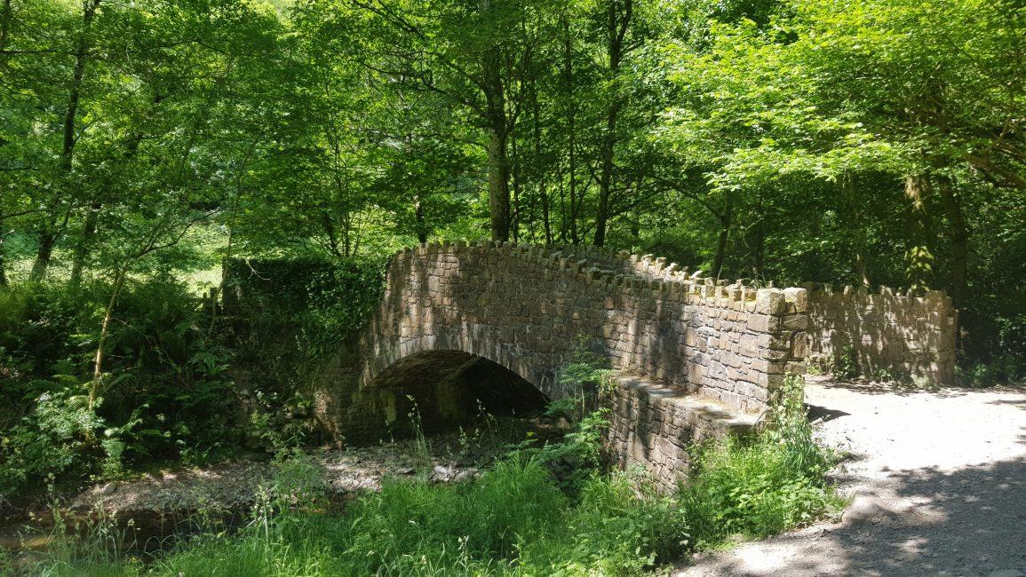 Beautiful stone bridge