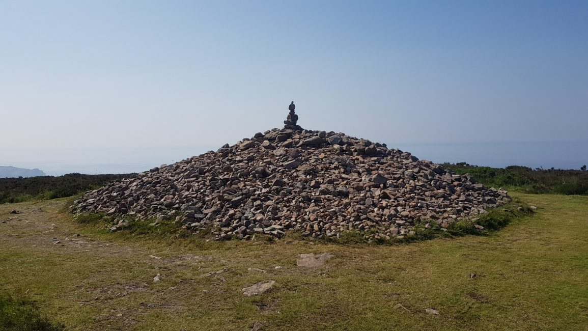 Great Hangman cairn
