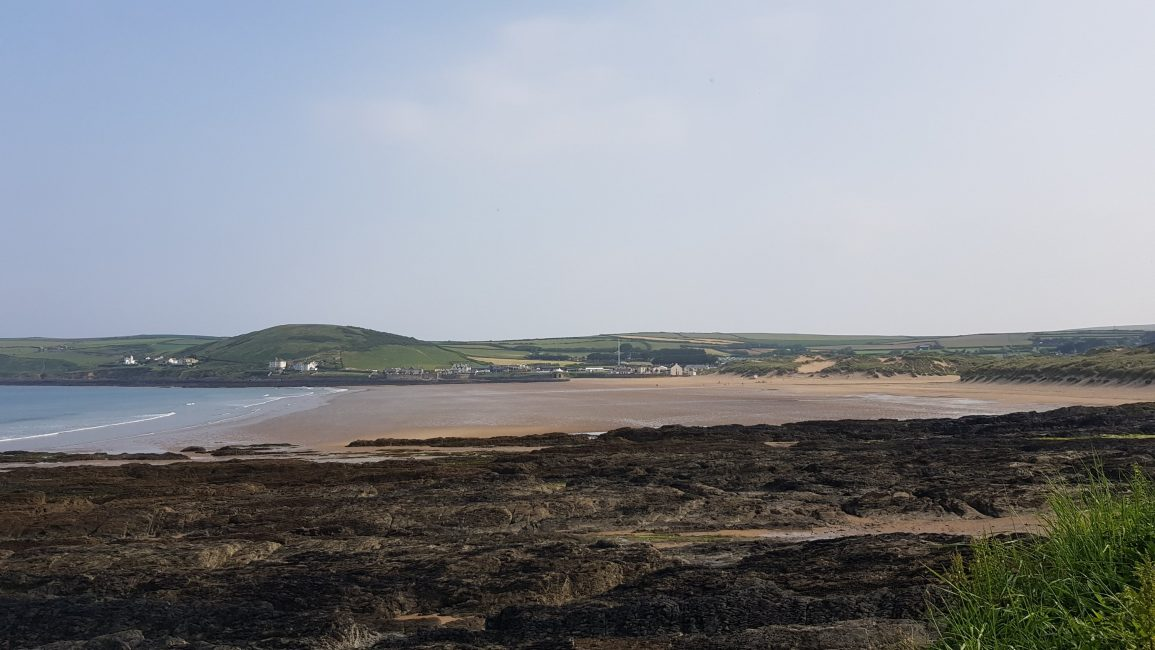 Looking East back to Croyde Bay