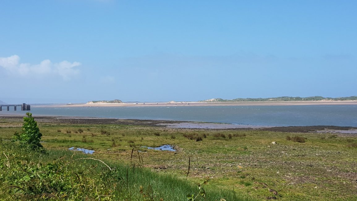River Taw looking over to Braunton Burrows