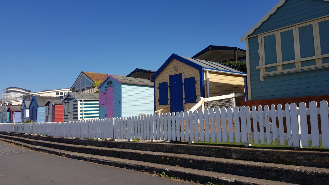 Beach huts at Westward Ho!