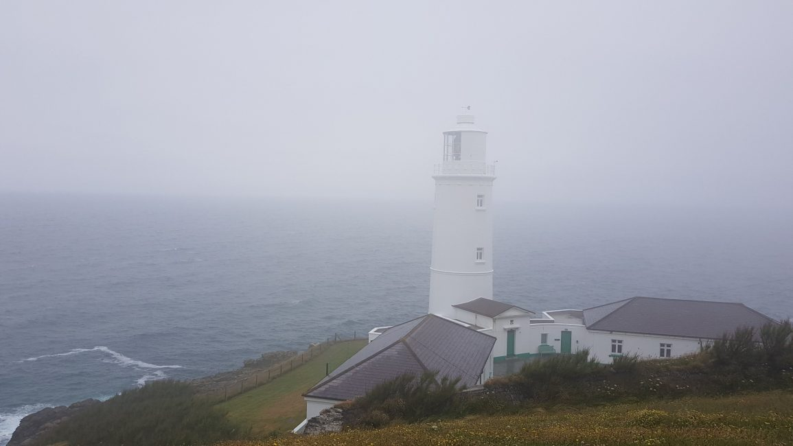 Lighthouse at Trevone Point