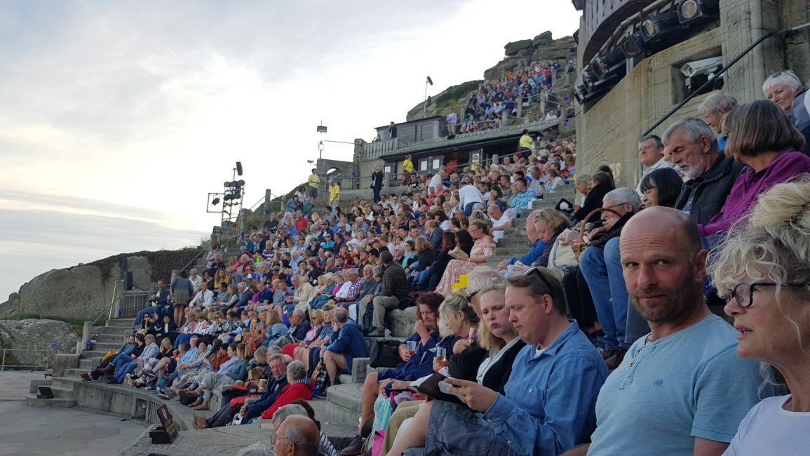 Full house at the Minack theatre