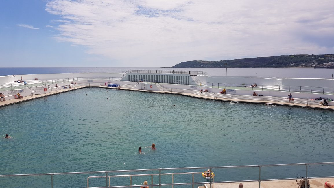 The Jubilee pools at Penzance