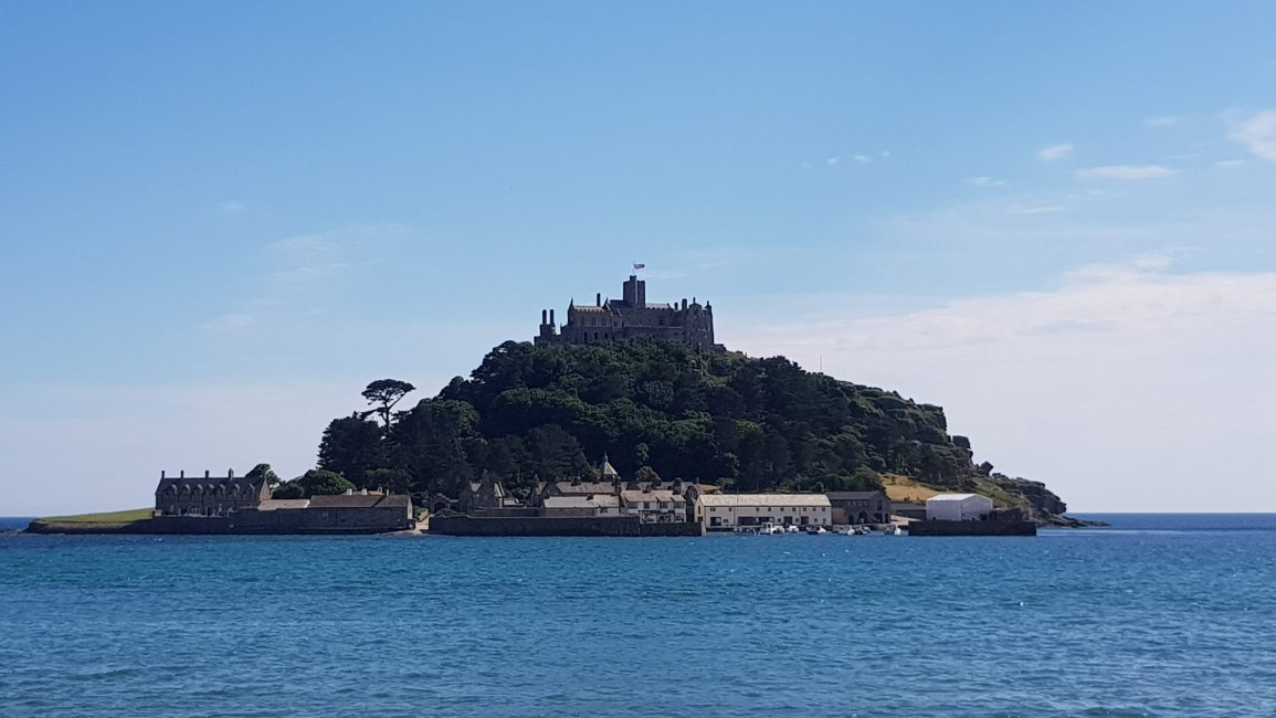 St Michael's Mount - high tide