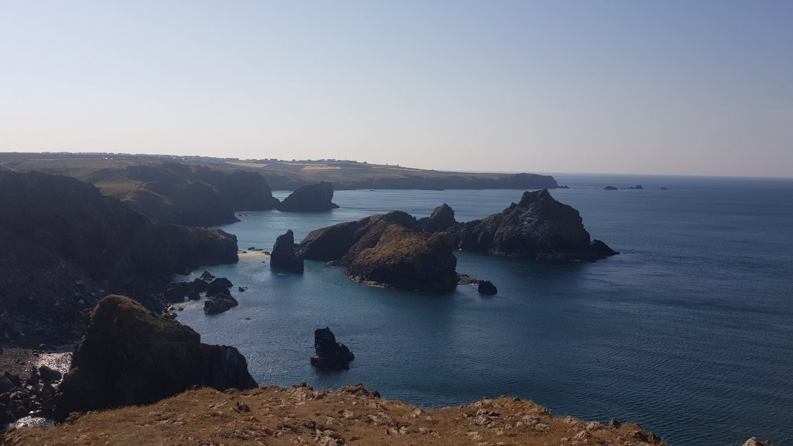 The rocks at Kynance Cove