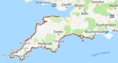 South West Coast Path Map