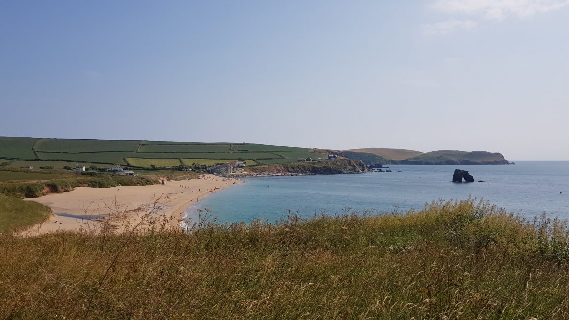 Thurlestone Sands beach