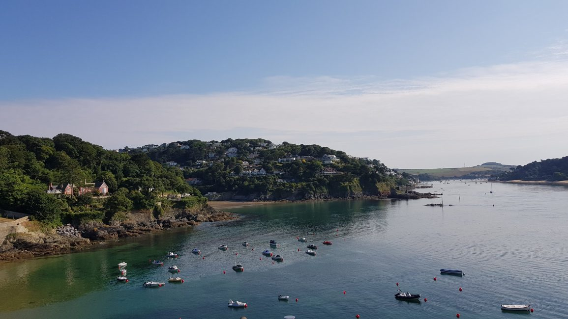 Coming into Salcombe