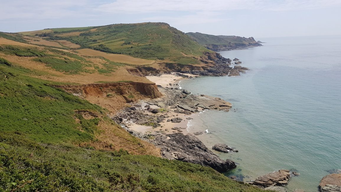 Out of Salcombe towards Prawle