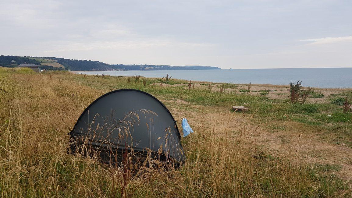 Slightly uninspiring and public wild camp