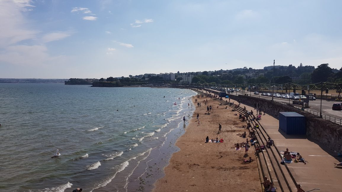 The beach at Torquay