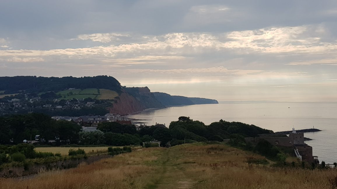 Into Sidmouth and beyond