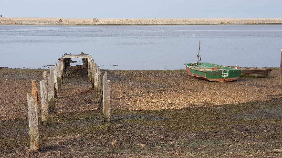 Jetty at the Fleet nature reserve