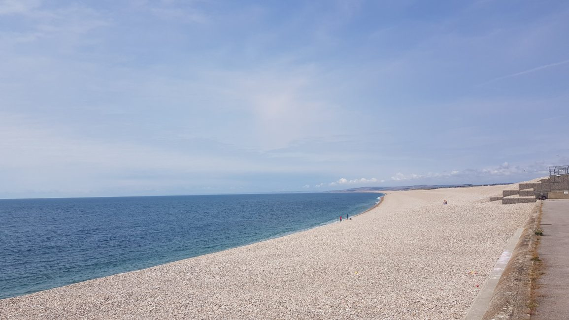 Chesil bank/beach