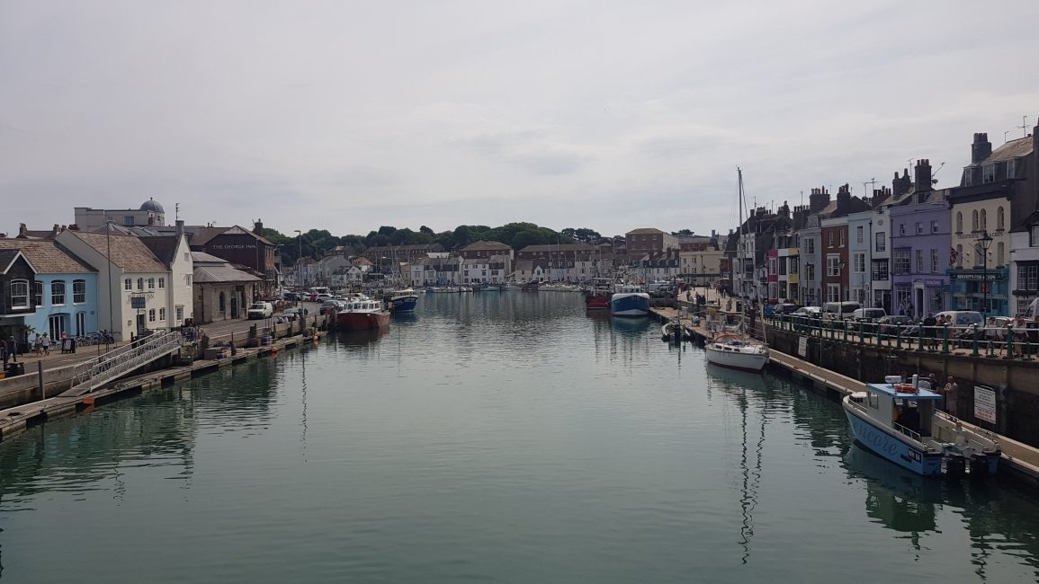 From the bridge over the harbour