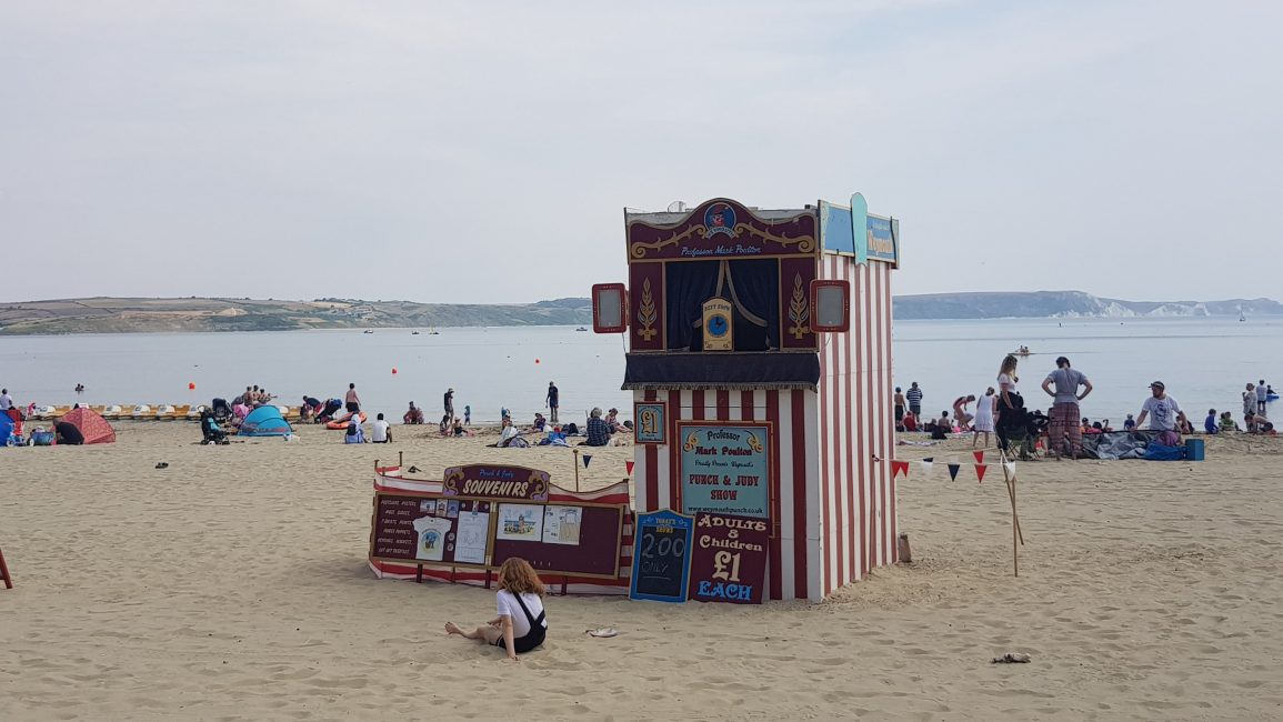 Punch & Judy on the beach