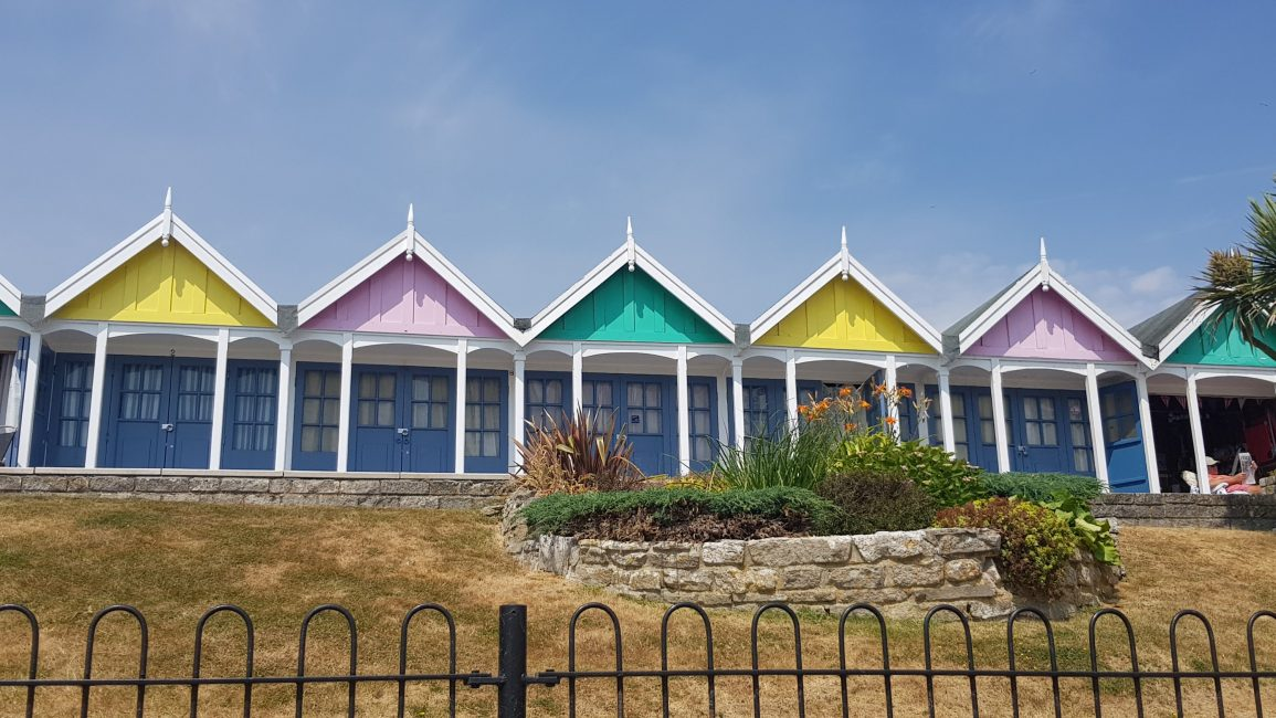 More lovely beach huts