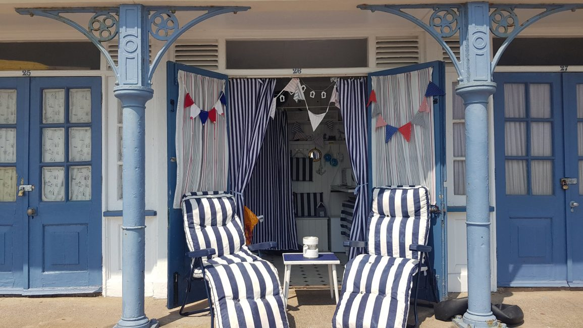These guys take pride in their beach hut