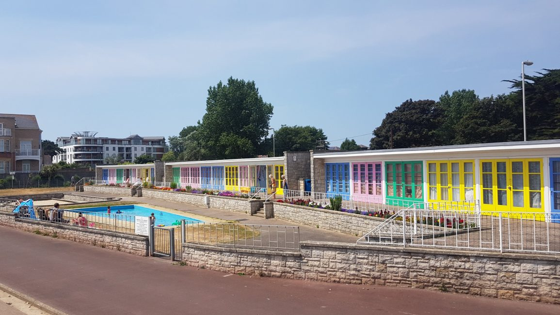 I'm obsessed with beach huts