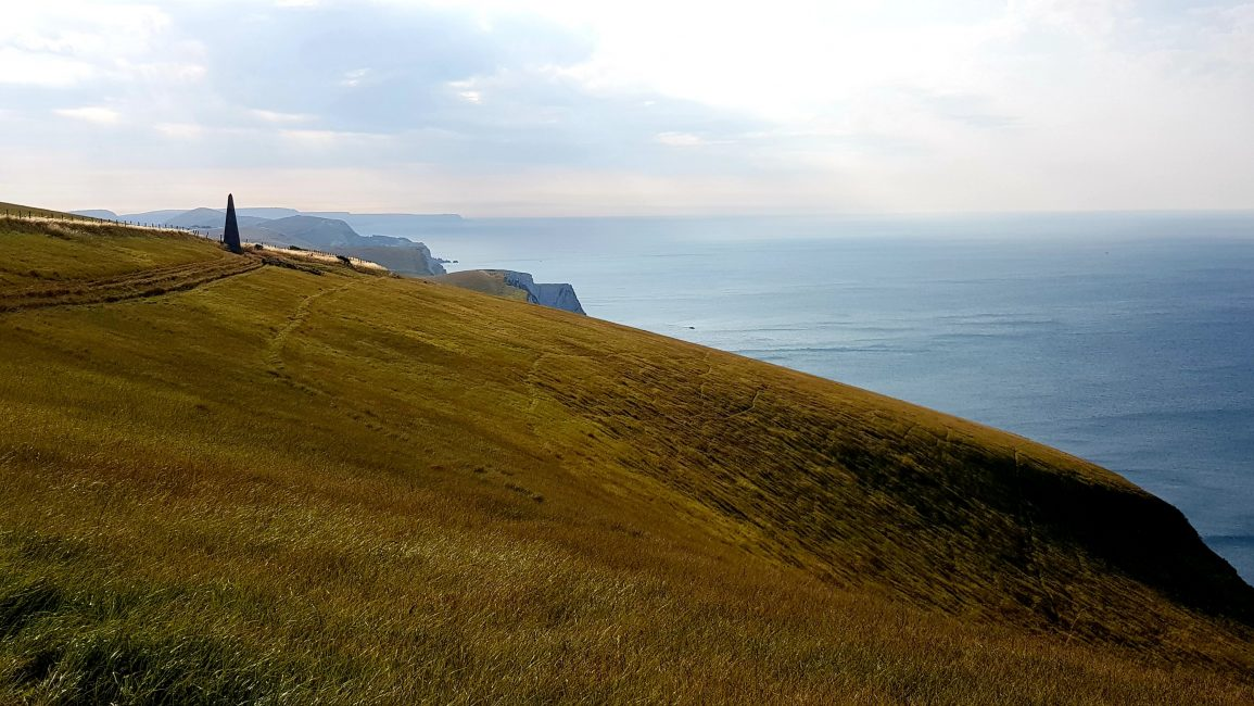 Nearing Durdle Door