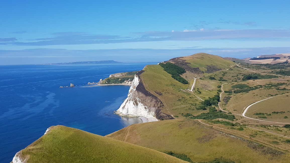 Incredible views back to Lulworth