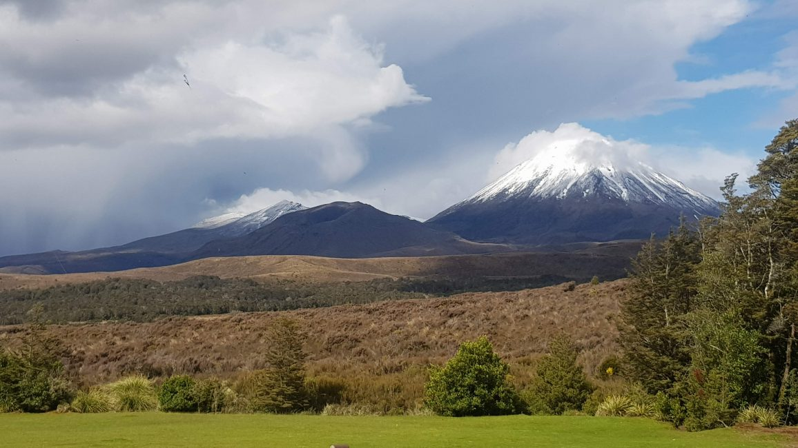 Awesome views from Chateau Tongariro