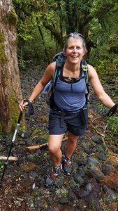 Tinytramper around the mountain Taranaki