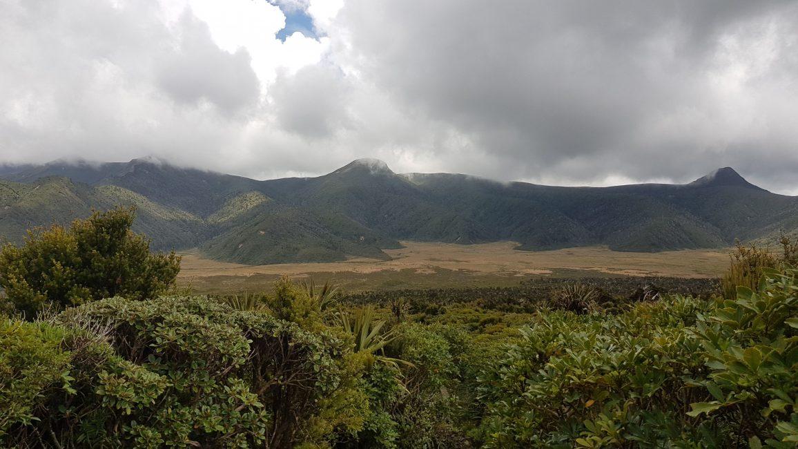 The Pouakai ranges